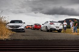 BMW M3 vs HSV Clubsport LSA vs Lexus GS-F vs Mercedes-AMG C63 S
