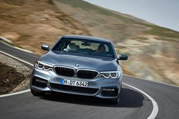 2017 BMW 5 series safety features