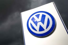Volkswagen Group sign