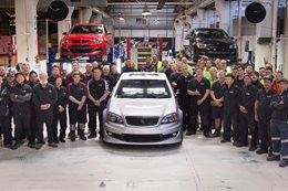 HSV Grange rolling off production line