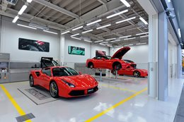 Ferrari manufacturing technology