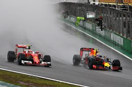 Formula One cars in Brazil Grand Prix