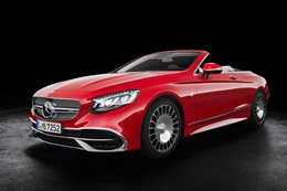 Mercedes-Maybach convertible
