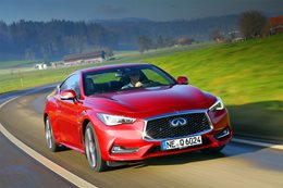 Infiniti Q60 S front side driving