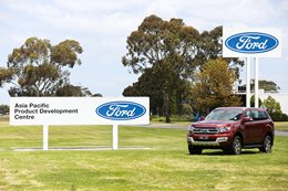 Ford Asia Pacific product development