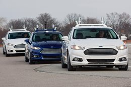 Ford autonomous driving trial