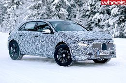 2019 Mercedes-Benz GLA spy pics