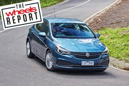 Holden Astra in Wheels Report 2016