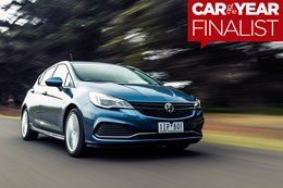 2017 Holden Astra - Wheels Car of the Year Finalist