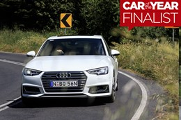 2017 Audi A4 - Wheels Car of the Year Finalist