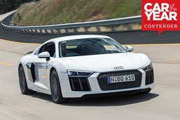 2017 Audi R8 at Wheels Car of the Year