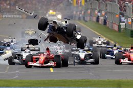 Ralf Schumacher crash 2002 Australian Grand Prix main