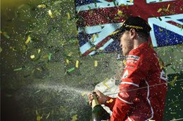 Sebastien Vettel wins the 2017 Australian Grand Prix