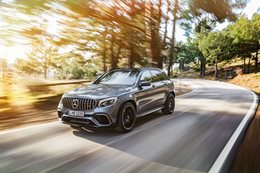 Mercedes GLC 63 revealed