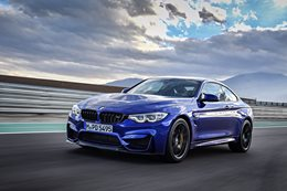 BMW M4 CS head long