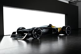 Renault envisions Formula 1 car of the future