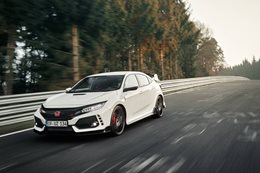 2018 Honda Civic Type R Nurburgring lap record