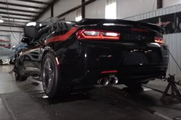 Hennessey Exorcist Camaro ZL1 flexes on the dyno