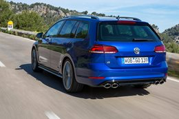 2017 Volkswagen Golf R wagon
