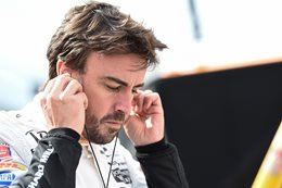 Alonso learns some crucial lessons in Indy familiarisation