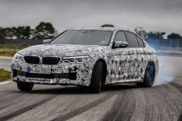 BMW M5 prototype first drive