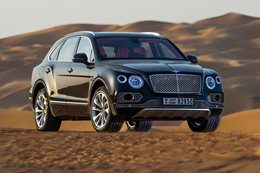 Bentley's Bentayga Falconry - who's the fool now?