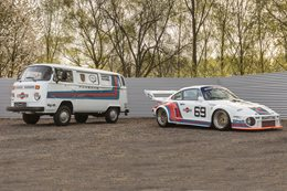 Ultimate Martini track day duo up for auction