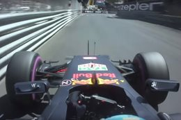 Video: Bask in the glory of Daniel Ricciardo's Monaco Grand Prix pole lap