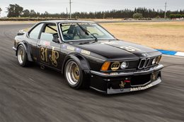 Aussie BMW 635CSi Group C racer to compete in UK