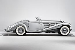 Retro: 1936 Mercedes-Benz 540K - Silver Arrow Special