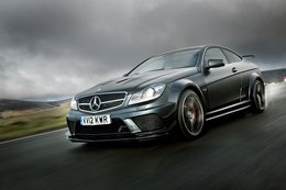 A Mercedes-AMG C63 Black and a sprint around the Isle of Man TT