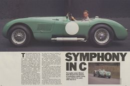 Classic Wheels: 1951 Jaguar C-Type review