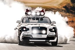 Jon Olsson Rolls Royce burnout main