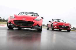 Mazda MX-5 Cup Racer vs Mazda MX-5 Racers Edge
