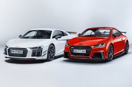 Audi TT and Audi R8 gain racy carbonfibre upgrades