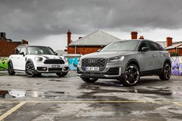 2017 Audi Q2 Design v 2017 Mini Countryman comparison review