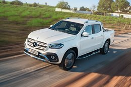 Mercedes-Benz X-Class ride along
