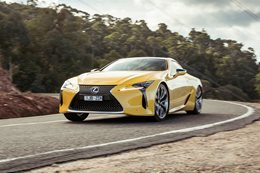 2017 Lexus LC500 review A novel concept
