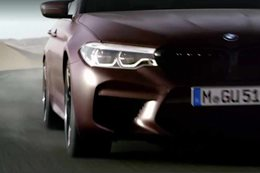2018 BMW M5 teased a week before debut
