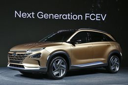 Hyundai fuel cell SUV reveal