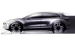 Design sketch of the 2018 Porsche Cayenne_main