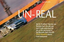 Retro Review: 1999 Mercedes-Benz CLK-GTR