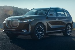 2017 Frankfurt Motor Show: BMW X7 iPerformance Concept breaks cover