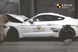 Ford Mustang frontal impact_main