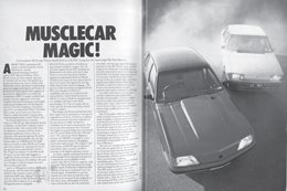 1982 Holden Commodore: Musclecar Magic
