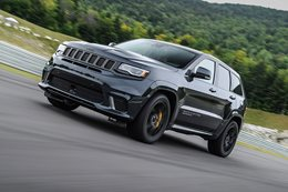 Hennessey mutates Jeep Trackhawk into a 754kW monster