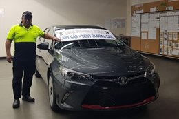 Toyota Camry takes final steps down Altona production line