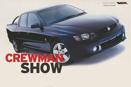 2003 Holden Commodore: The Crewman Show