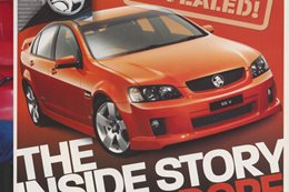 2006 Holden Commodore REVEALED The Commodores inside story