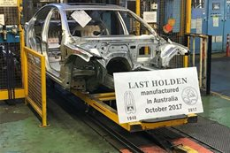 Last Australian Holden Commodore appears on social media